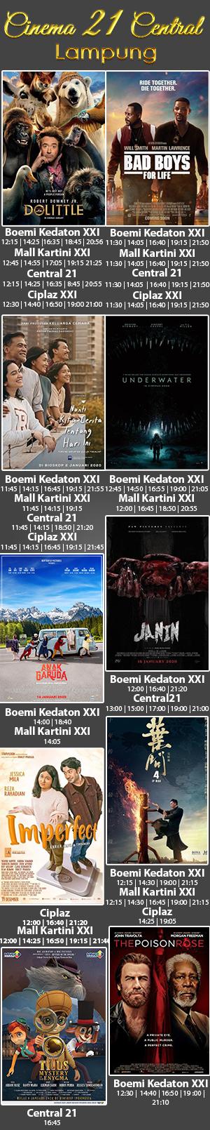 Jadwal Nonton Lampung