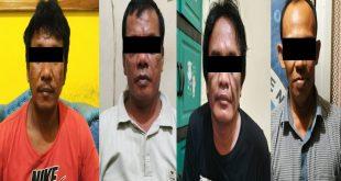 Satres Narkoba Polres Way Kanan Ringkus Empat Pelaku Diduga Pengedar Sabu