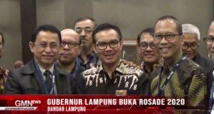 Gubernur Lampung Buka Rosade 2020
