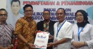 Eva Dwiana Serahkan Berkas Pendaftaran ke Partai Perindo