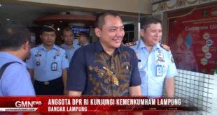 Anggota DPR RI Kunjungi Kemenkumham Lampung