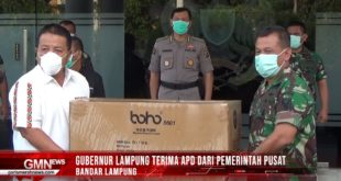 Gubernur Lampung Terima ABD dari Pemerintah Pusat