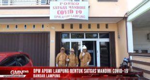 DPW APBMI Lampung Bentuk Satgas Mandiri Covid-19