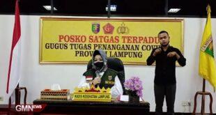 Perkembangan Covid-19 Provinsi Lampung, Rabu (20/5/2020)