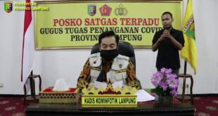 Perkembangan Covid-19 Provinsi Lampung, Kamis (28/5/2020)