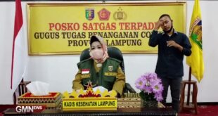 Perkembangan Covid-19 Provinsi Lampung, Selasa (19/5/2020)