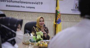 Bunda Literasi Ibu Riana Arinal Sampaikan Strategi Cerdas Berliterasi Ditengah Pandemi Covid-19