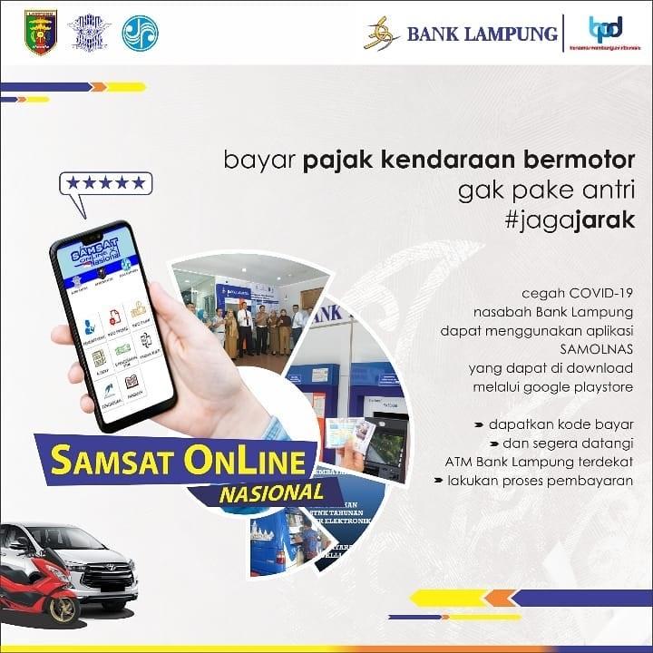 e-samsat bank lampung