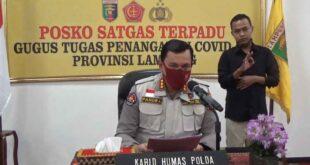 Gugus Tugas Penanganan Covid-19 Provinsi Lampung Terima 50.0000 unit Bantuan APD Disposable dari BPNB