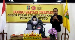Perkembangan Covid-19 di Provinsi Lampung, Rabu 3 Juni 2020
