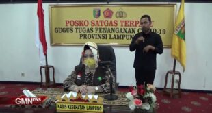 Perkembangan Covid-19 Provinsi Lampung, Kamis (2/7/2020)