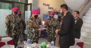 Komandan Puslatpurmar 5 Baluran Kunjungi Mapolres Situbondo