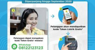 Token Listrik Gratis Diperpanjang Hingga September 2020