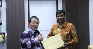 Gubernur Arinal Ajak PT. Nestle Bina Petani Kopi Lakukan Petik Biji Merah