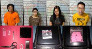 Empat Pelaku Penyalahgunaan Narkoba Diamankan Satres Narkoba Polres Lampung Utara, Satu Diantaranya PNS