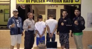 Dua Pelaku Curat di Kampung Bumi Mulya Berhasil Diamankan Polsek Pakuan Ratu