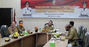 Gubernur Lampung Rapat Pembahasan Pembangunan Kawasan Industri Dengan Kemenperin