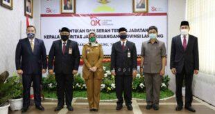 Sertijab Kepala OJK Lampung, Pemprov Ajak Wujudkan Rakyat Lampung Berjaya