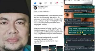 Koplak, Foto Danial Maulana Ketua LPBH NU Digunakan Modus Penipuan oleh Oknum Tak Bertanggung jawab