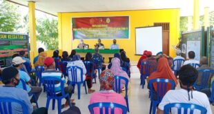 Satgas TMMD Gelar Bakti Sosial Penyuluhan Kesehatan di Balai Desa Savana Jaya
