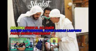 Syekh M. Ali Jaber berkunjung ke Masjid Baiturrahim pasca insiden penusukan