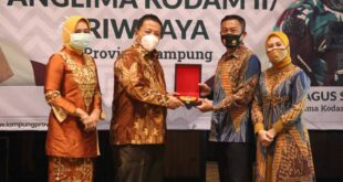 Pangdam II/Sriwijaya Puji Keberhasilan Gubernur Arinal dalam Penanganan Covid-19 di Provinsi Lampung