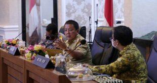 Gubernur Arinal Pimpin Rakor Pengendalian Covid-19 pada Pilkada Serentak 2020