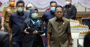 Pemprov Lampung Sampaikan 13 Upaya Peningkatan Penerimaan Daerah dalam Paripurna Raperda Perubahan APBD 2020