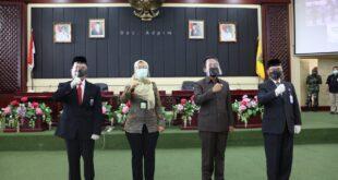 Sertijab Kepala Perwakilan BPKP Lampung,  Pemprov Dorong Optimalisasi BPKP agar Pemkab/Kota Raih Opini WTP