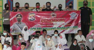 """Jumat Berkah Polda Banten  Implementasikan """"Polisi Sayang Anak Yatim"""""""