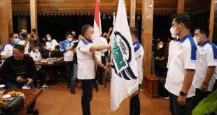 Pelantikan IMBI Lampung 2021-2024, Arinal Berharap Para Mogers Jadi Teladan Peraturan Lalu Lintas