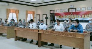 Kapolda Kalbar Kunjungi Mapolres Melawi