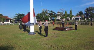 AKBP Bambang Yudho Martono, S.I.K., M,Si. Pimpin Upacara Hari Kesadaran Nasional Lampura