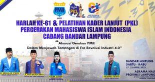 Gelar PKL, PC PMII Bandar Lampung Perkuat Akurasi Gerakan