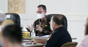 Rapat Kemudahan Investasi dan Ekspor Lampung, Gubernur Arinal Perjuangkan Masalah Perbedaan Bea Masuk Ekspor dan Siap Melaporkannya Ke Pusat