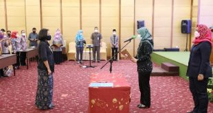 Pengukuhan Forum Puspa Lampung, Wagub Chusnunia Ajak Para Pengurus Berkontribusi Mewujudkan Lampung Layak Anak dan Ramah Perempuan