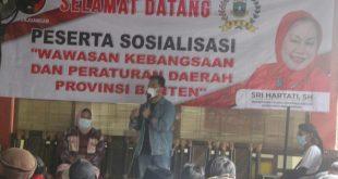 Anggota DPRD Sri Hartati Sosialisasi Wawasan Kebangsaan