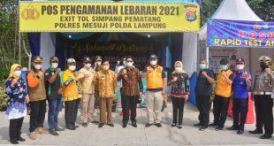 Tim Monitoring Divisi III Terus Bergerak ke Kabupaten Mesuji, Pantau Posko Penanganan Covid-19 Hingga Tingkat Desa dan Kelurahan
