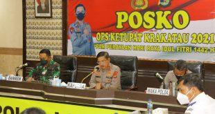 Kapolda Lampung Perintahkan Pelaksanaan Operasi Penyekatan Arus Balik