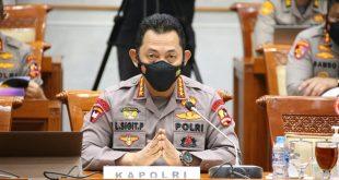 Kapolri Rapat Dengar Pendapat (RDP) dengan Komisi III DPR RI