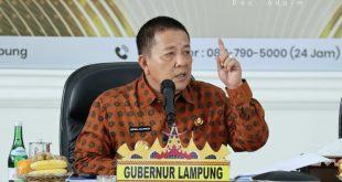 Gubernur Arinal Minta Bupati/Walikota Perketat Penerapan Pemberlakuan Pembatasan Kegiatan Masyarakat Skala Mikro