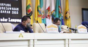 Gubernur Arinal dan DPRD Lampung Tandatangani Raperda Pertanggungjawaban APBD Tahun 2020