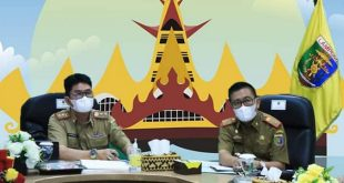 Pemprov Lampung Hadiri Rapat Evaluasi SAKIP RB Tahun 2021