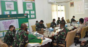 Pangdam Jaya Beri Arahan tiga pilar untuk Tingkatkan Serbuan Vaksinasi