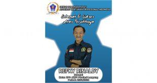 Refky Rinaldy Nahkoda Baru AWPI Lampung