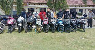 Dua pelaku spesialis Curanmor diringkus TEKAB 308 Polres Lampung Utara