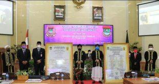 Rapat Paripurna HUT Kabupaten Tangerang ke-389 Kecamatan Rajeg Ikut Secara Virtual