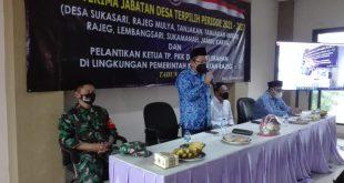 Pemerintahan Kecamatan Rajeg Sertijab 8 Kepala Desa Terpilih Periode 2021 -2027